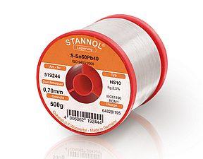 Soldering wire HS10 - Sn60,Pb40 - 0.5 mm , 250 gr , 2.5% Flux