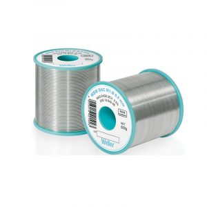 WSW SAC M1 1,00 mm Lead-free solder wire for longer tip lifetime