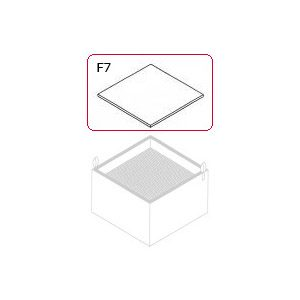 Fine dust filter F 7 - WFE 20D, WFE 4S, Zero Smog 20T 10 pieces