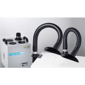 Zero Smog 4V Kit 2 funnel nozzles Volume extraction