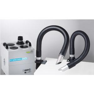 Zero Smog 4V Kit 2 sloped nozzles Volume extraction