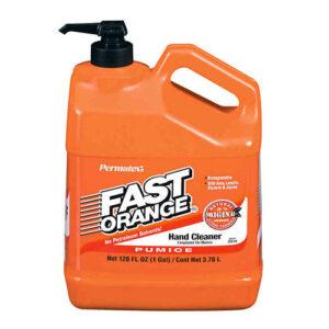 Fast Orange pump bottle