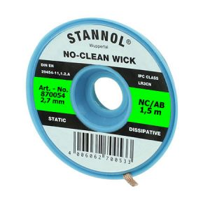 NO-CLEAN DESOLDERING WICK STANNOL