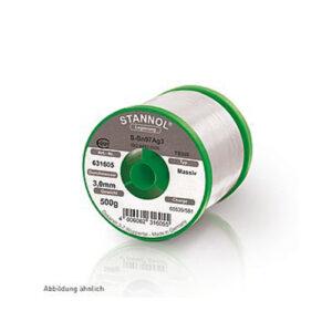 SOLDER WIRE SOLID NSL STANNOL ,0.7 mm , 250 gr